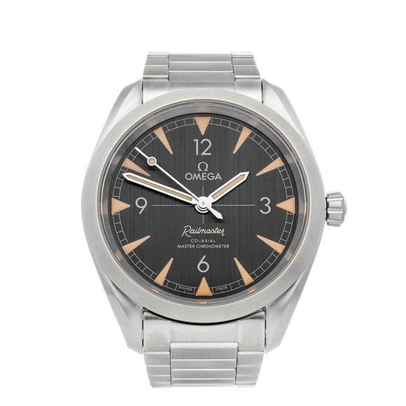 Omega Railmaster Stainless Steel - 220.10.40.20.01.001