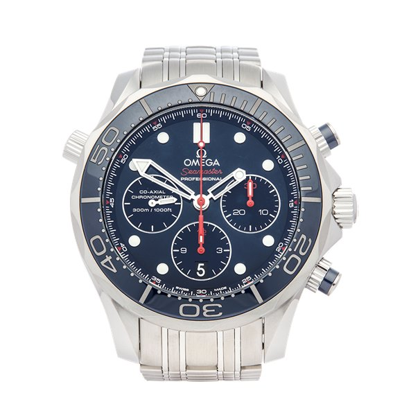 Omega Seamaster Chronograph Stainless Steel - 21230445003001