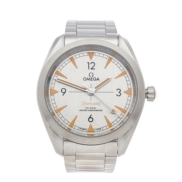 Omega Railmaster Stainless Steel - 2201.0.40.20.06.001