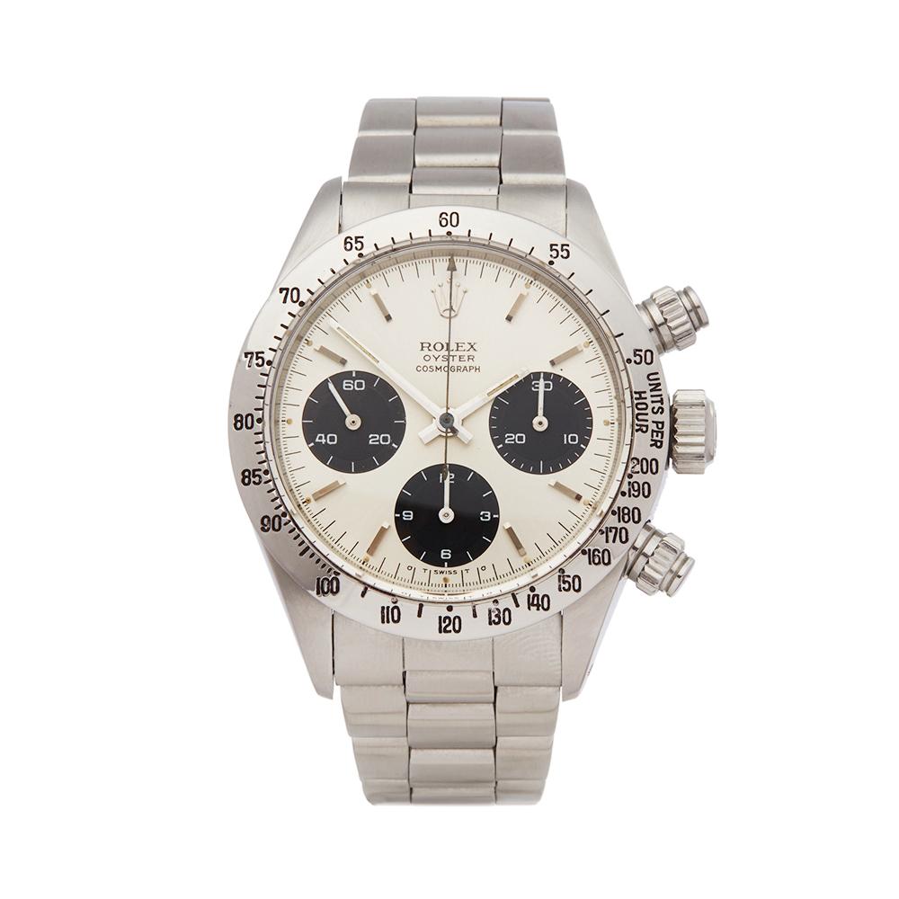 Details About Rolex Daytona Stainless Steel Watch 6265 Com1812