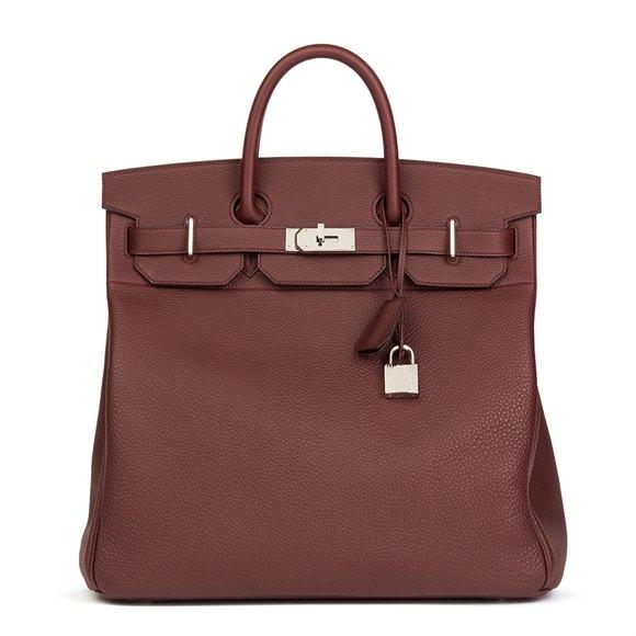 Hermès Bordeaux Togo Leather Birkin 40cm HAC