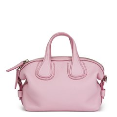 Givenchy Pink Calfskin Leather Micro Nightingale