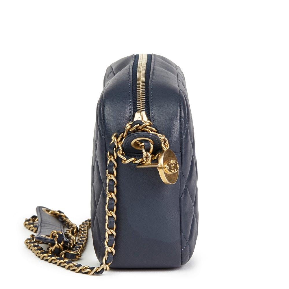 beb9673674ad Chanel Diamond CC Camera Bag 2014 HB2303 | Second Hand Handbags