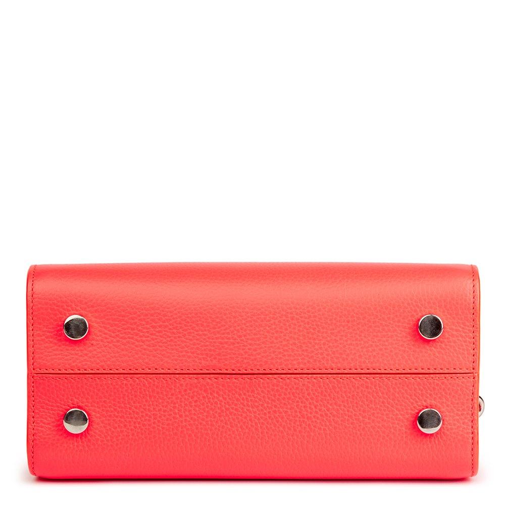 Christian Dior Goji Pink Grained Calfskin Mini Diorever Tote