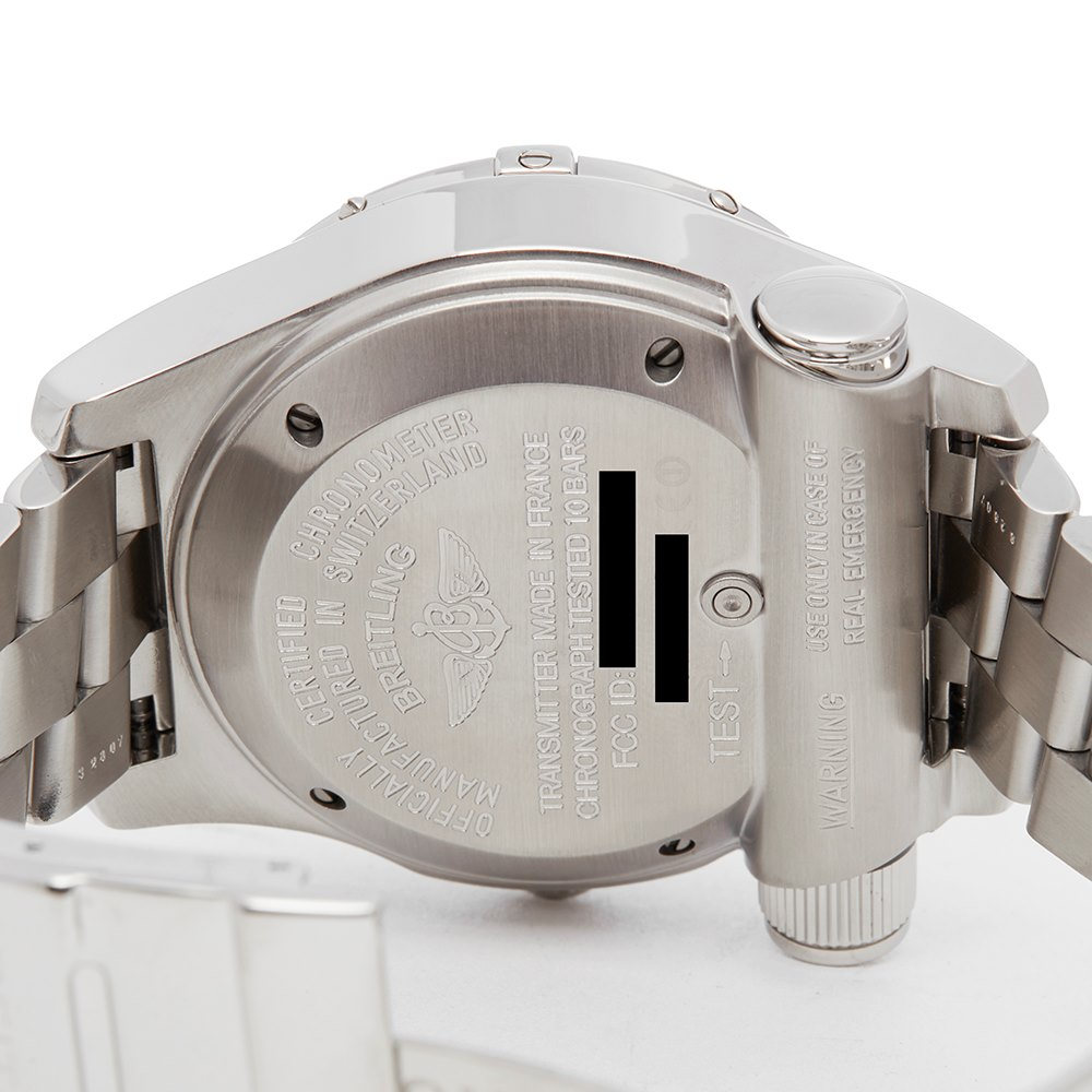 Breitling Emergency Coast Guard Beacon Stainless Steel A73322