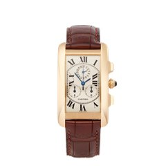 Cartier Tank Americaine 18K Yellow Gold - 1730