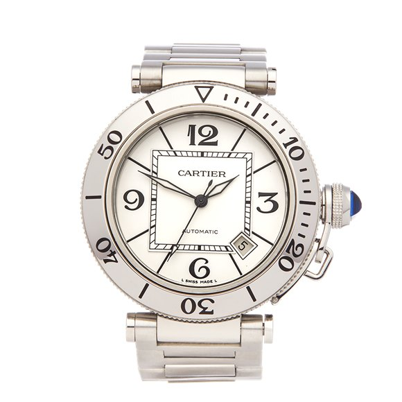 Cartier Pasha de Cartier Sea timer Stainless Steel - W31080M7