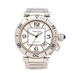 Cartier Pasha de Cartier Sea timer Stainless Steel - W31080M7