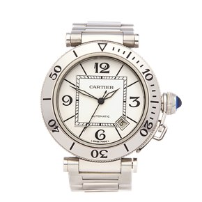 Cartier Pasha de Cartier Seatimer Stainless Steel - W31080M7 or 2790
