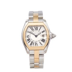 Cartier Roadster Stainless Steel & 18K Rose Gold - 2675