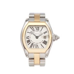 Cartier Roadster Stainless Steel & 18K Yellow Gold - 2675