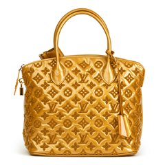 Louis Vuitton Mustard Patent Lambskin Monogram Fascination Lockit