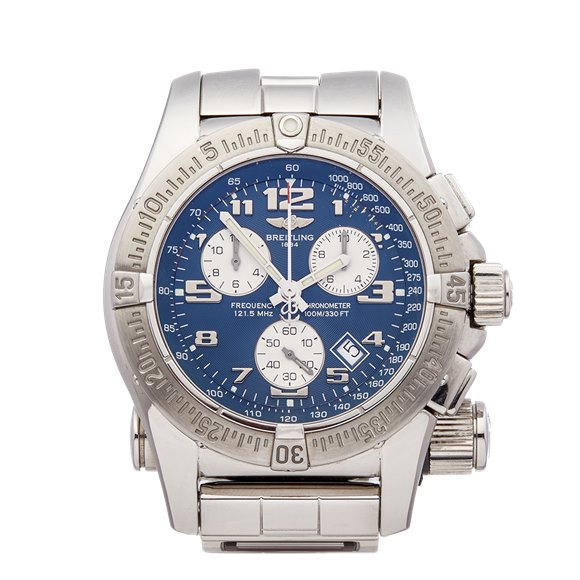 Breitling Emergency Co Pilot Stainless Steel - A73322