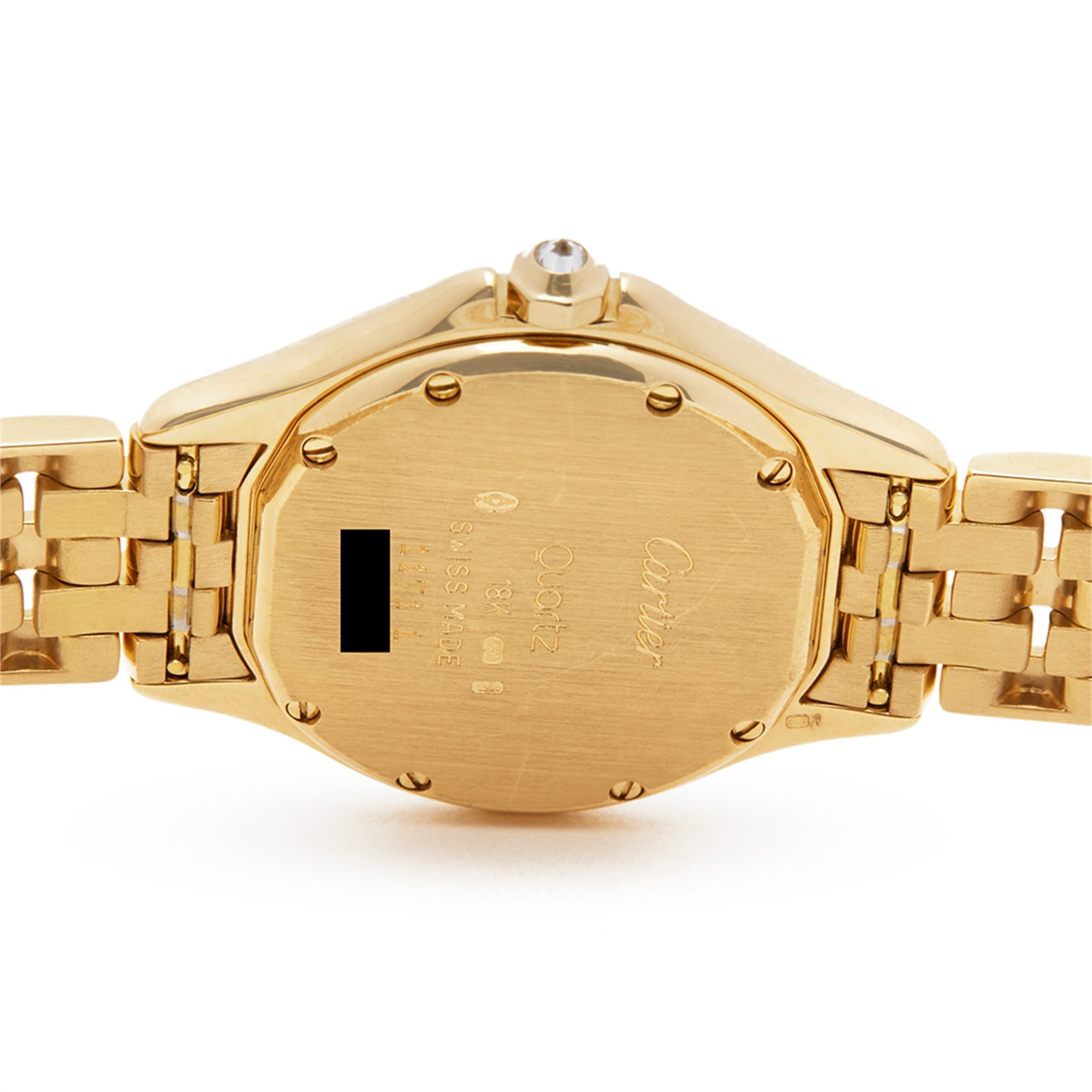 Cartier Panthère Cougar Diamond 18K Yellow Gold WF8008B9 or 1171