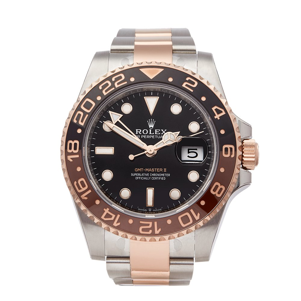 Pre Owned Rolex Watch Gmt Master Ii 126711chnr Xupes