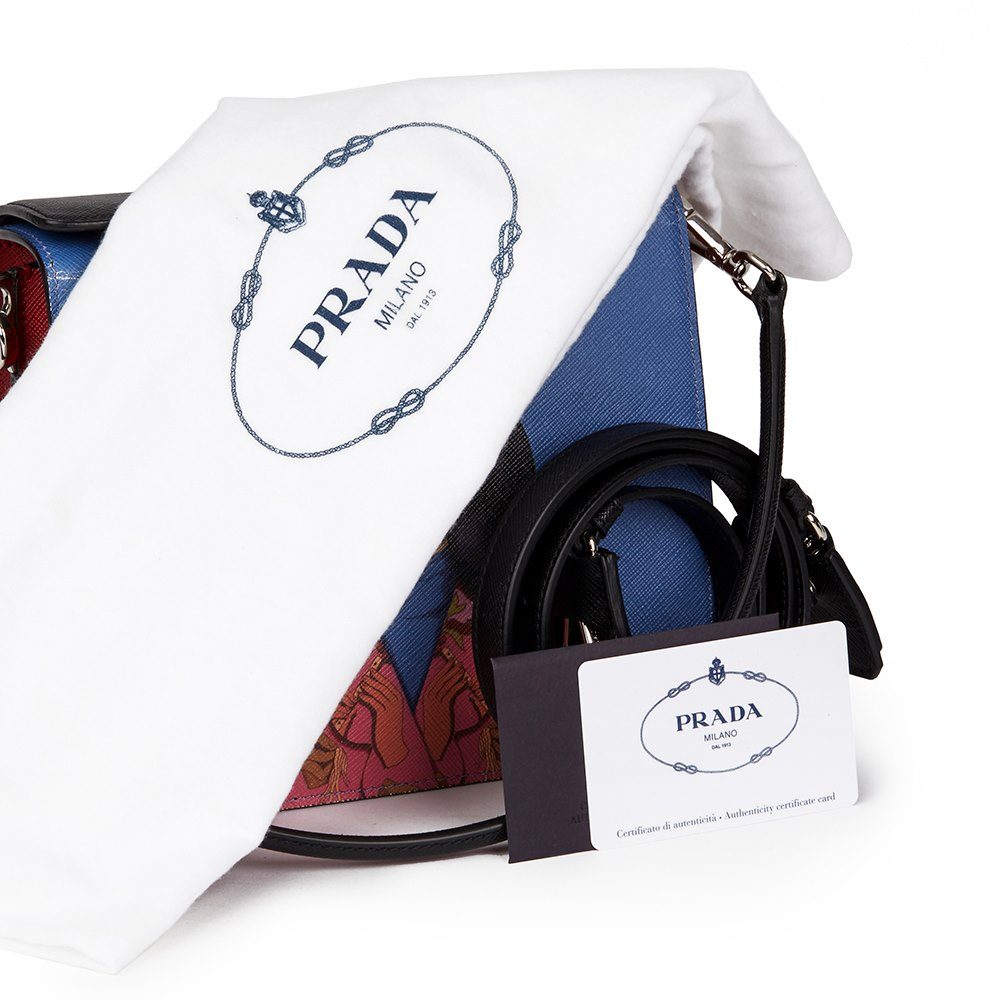 ed41f1440af Prada Face Art Bag HB2338 | Tweedehands Handtassen | Xupes