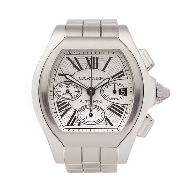Cartier Roadster Chronograph Stainless Steel - 3405