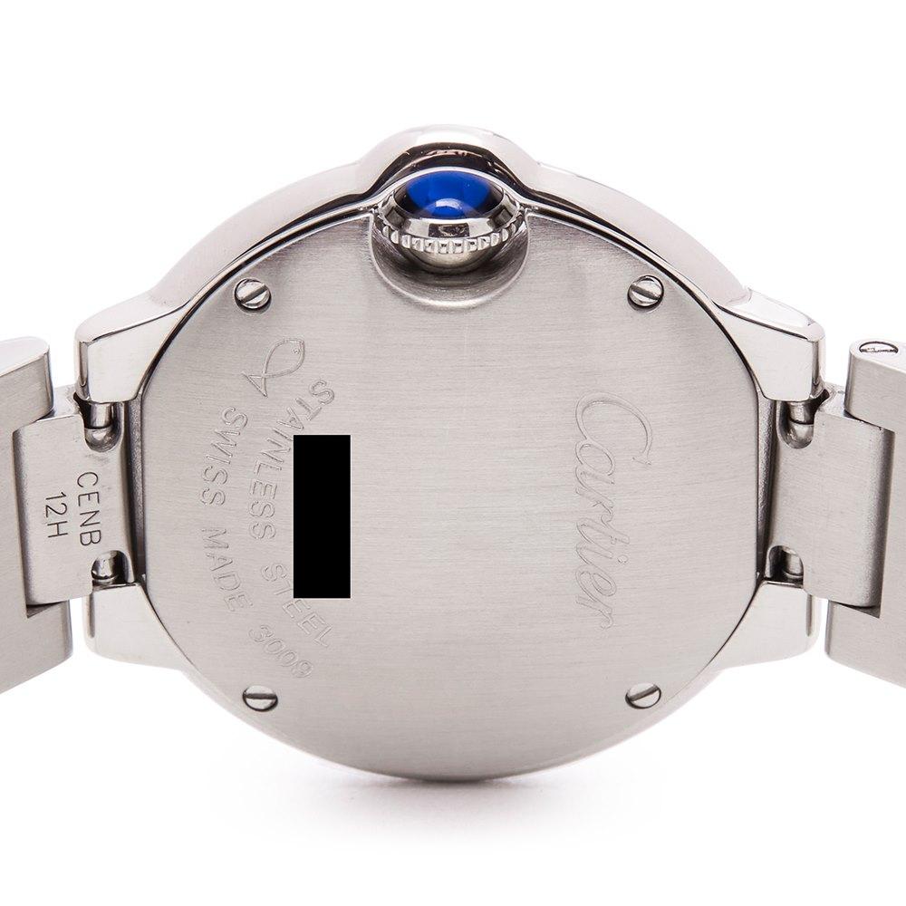 Cartier Ballon Bleu Stainless Steel W69010Z4