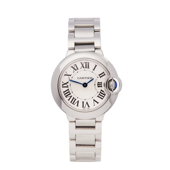 Cartier Ballon Bleu Stainless Steel - W69010Z4