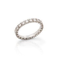 Cartier Platinum 1.55ct Full Diamond Destinée Eternity Ring