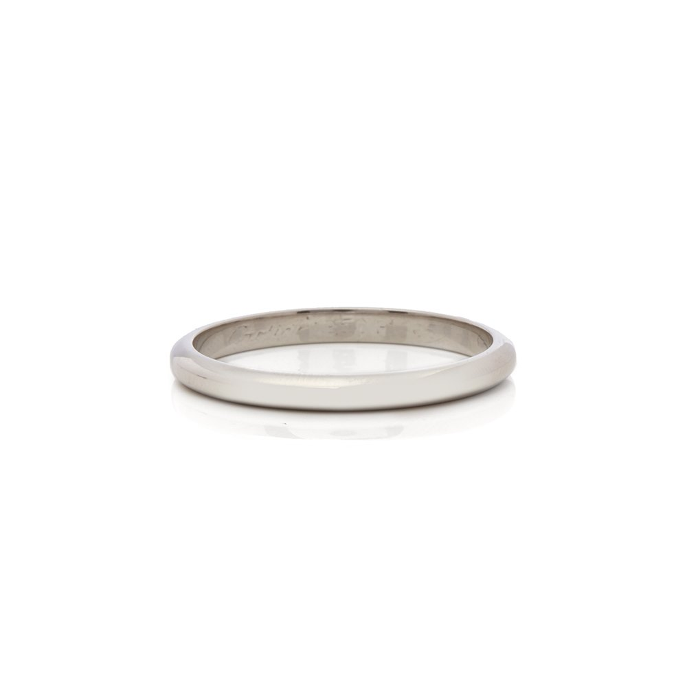 Cartier Platinum 2.5mm 1895 Wedding Band