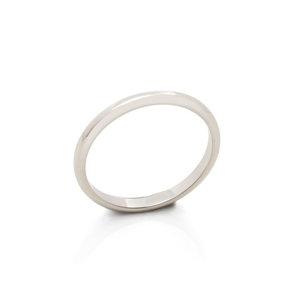 Platinum 2.5mm 1895 Wedding Band