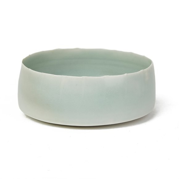 SONIA LEWIS STUDIO CERAMIC CELADON GLAZED BOWL