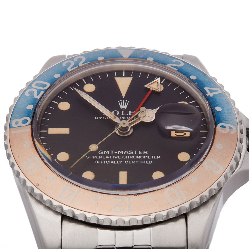 Rolex GMT-Master Pepsi PCG Stainless Steel 1675