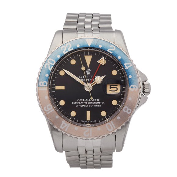 Rolex GMT-Master Pepsi Pcg Stainless Steel - 1675