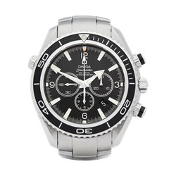 Omega Seamaster Planet Ocean Chronograph Stainless Steel - 22105000