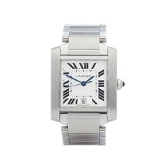 Cartier Tank Francaise Stainless Steel - 2302