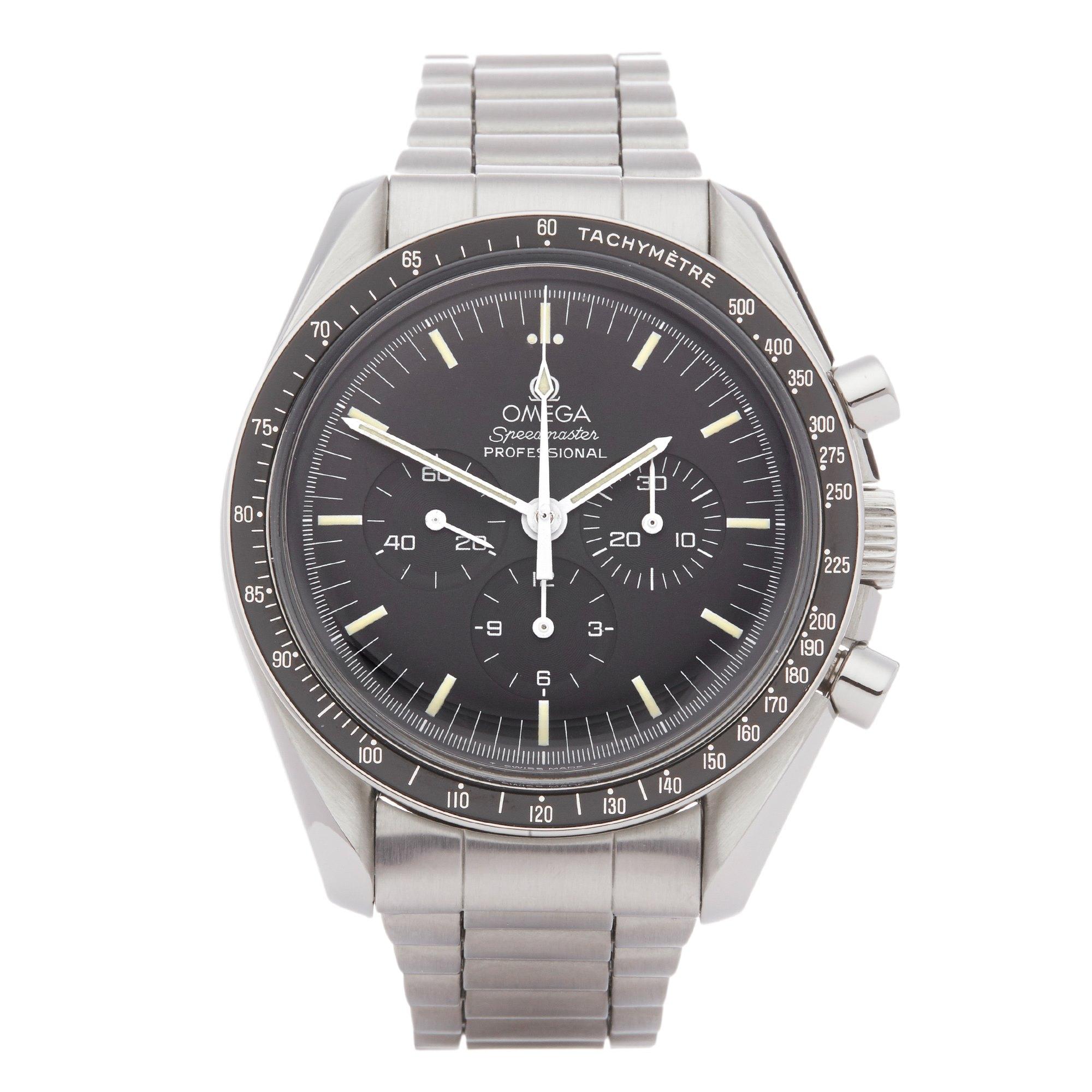 Omega Speedmaster Chronograph Stainless Steel 145.022 ST 74