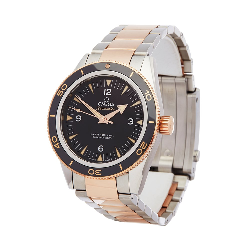 Omega Seamaster 300M Master Co-Axial Stainless Steel & Rose Gold 233.20.41.21.01.001