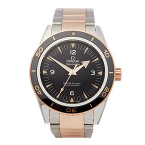 Omega Seamaster 300m Master Co-Axial 18k Stainless Steel & Rose Gold - 233.20.41.21.01.001