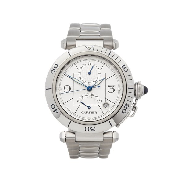 Cartier Pasha de Cartier Stainless Steel - 2388