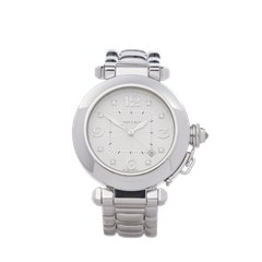 Cartier Pasha de Cartier 18K White Gold - 2528