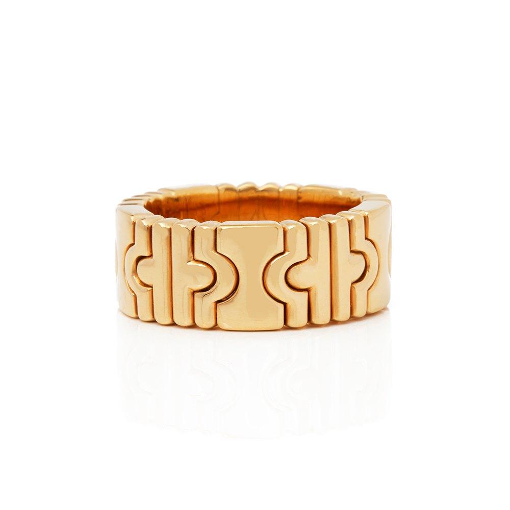 Bulgari 18k Yellow Gold Parentesi Ring