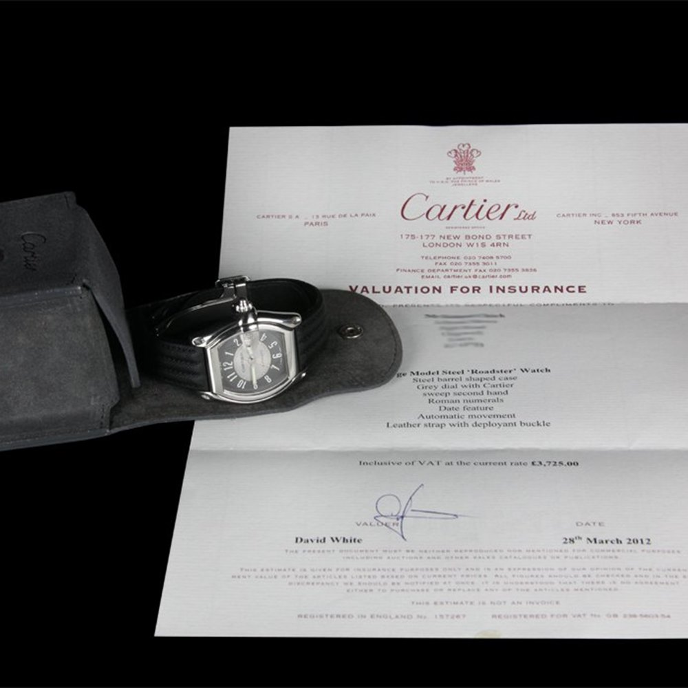 Cartier Roadster Stainless Steel W62001V3