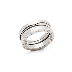 Bulgari 18k White Gold 4 Band B.Zero 1 Ring