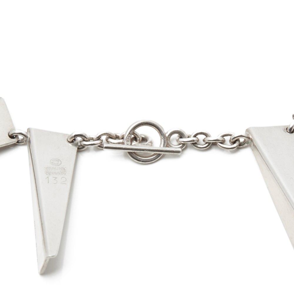 Georg Jensen Sterling Silver Vintage Statement Necklace