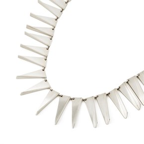 Georg Jensen Sterling Silver Vintage Statement Necklace