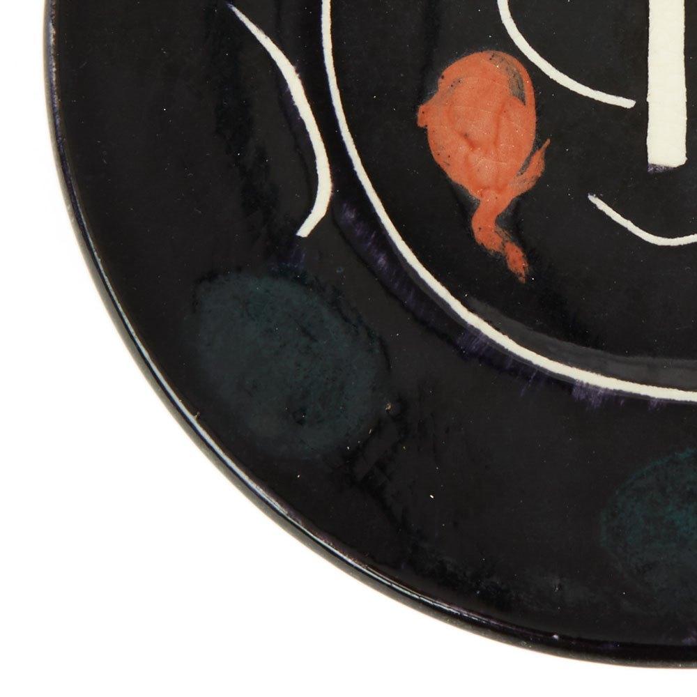 Pablo Picasso Ltd Edition Service Visage Noir Plate 1948 Made in 1948