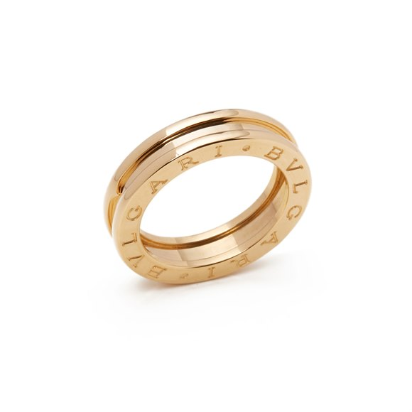 Bulgari 18k Yellow Gold B.Zero 1 Ring