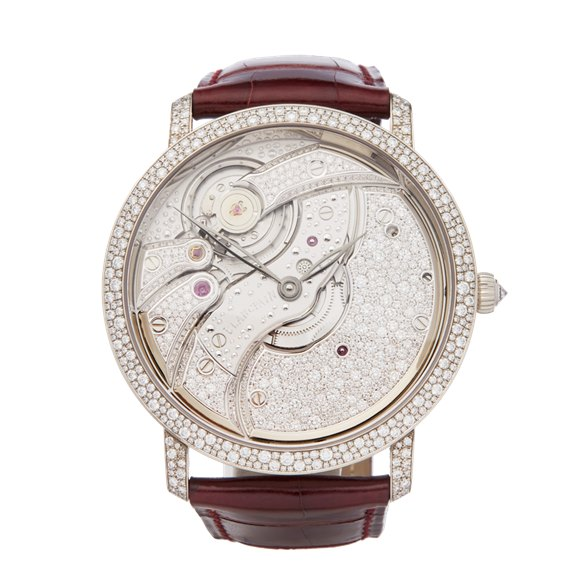 Blancpain Villeret Diamond White Gold - 6619-400-55B