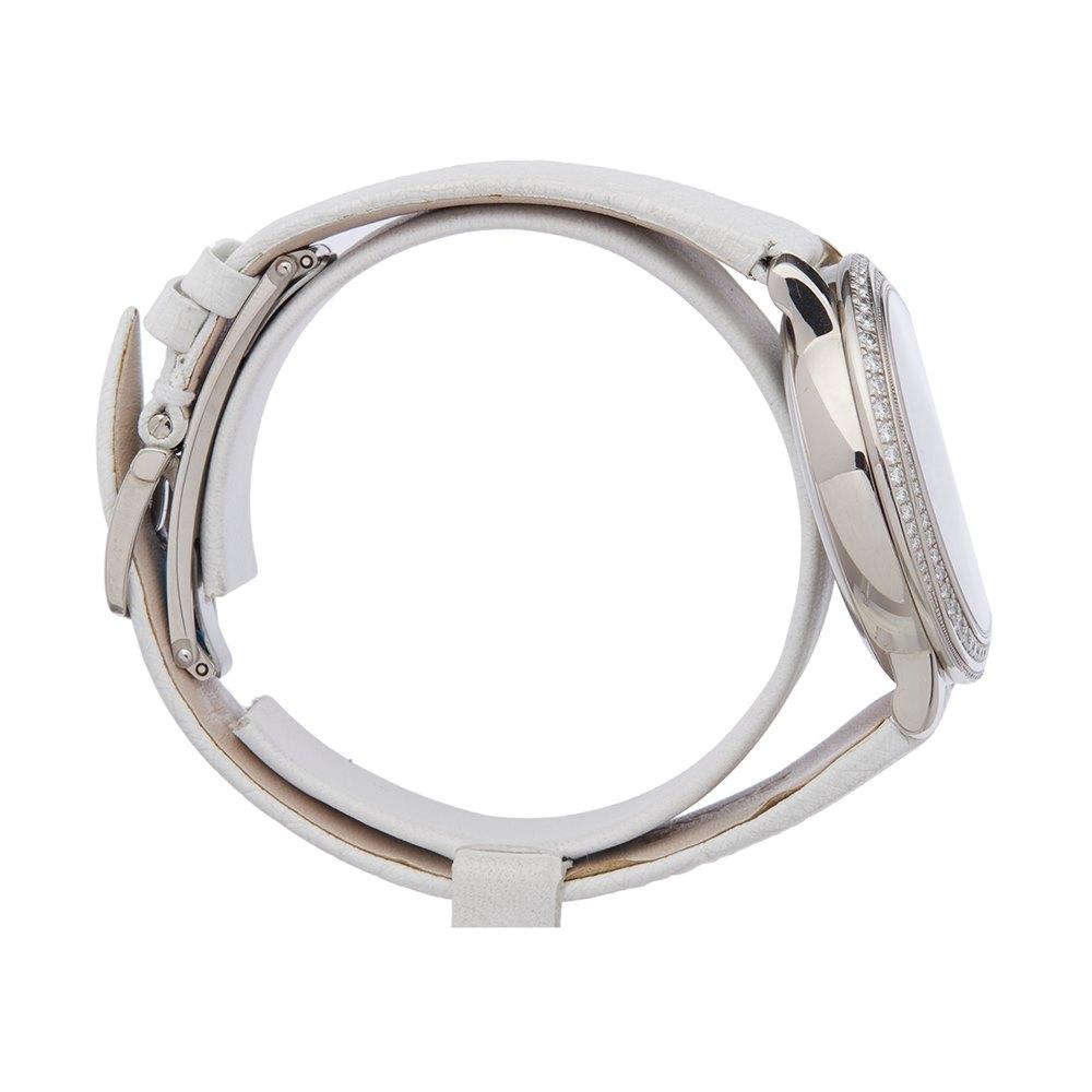 Blancpain Femme 18K White Gold 3650A3554L58B