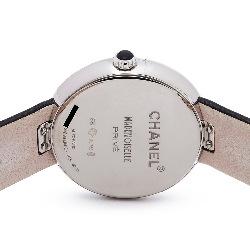 Chanel Mademoiselle Prive 18K White Gold H3093
