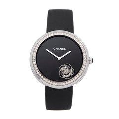 Chanel Mademoiselle Prive 18K White Gold - H3093