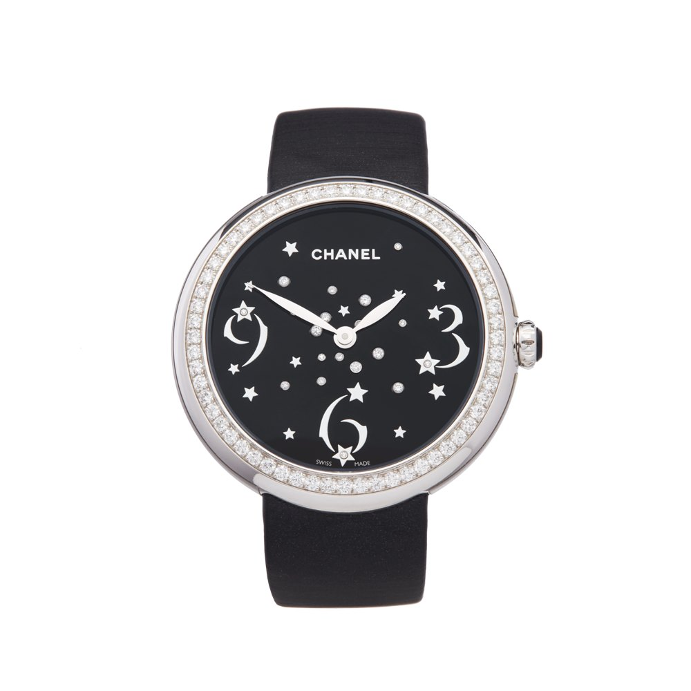 Chanel Mademoiselle Prive 18K White Gold H3097
