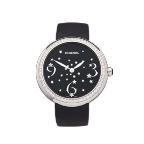 Chanel Mademoiselle Prive Diamond 18k White Gold - H3097