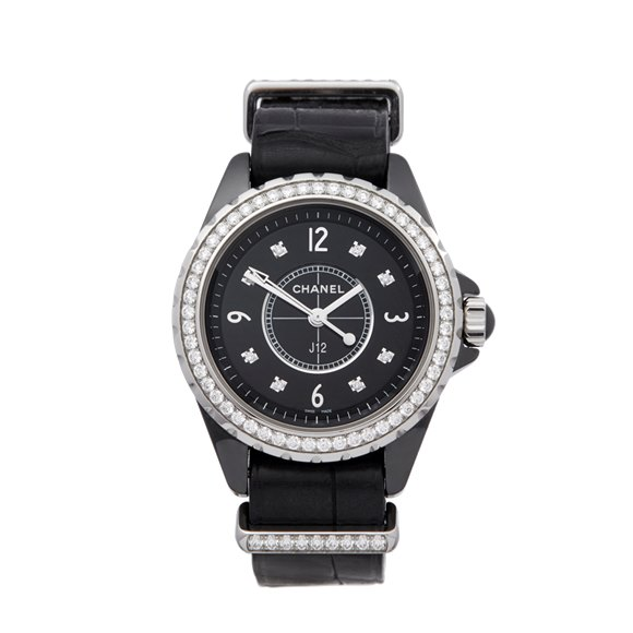 Chanel J12 Diamond Ceramic - H4189